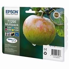 5 Sur Cartouche D Encre Epson T1295 Pomme Multipack 4