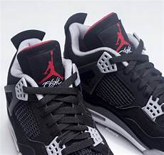 nike air jordan 4 bred black red 2019 release date sneakerfiles