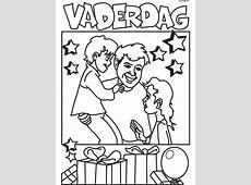 Kleurplaat Vaderdag   Kleurplaten.nl