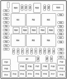 2007 Ford F150 Fuse Box Layout by Ford F 150 2004 2008 Fuse Box Diagram Auto Genius