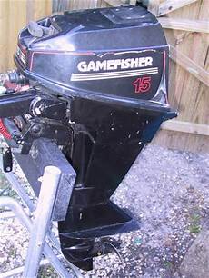 15hp Gamefisher Outboard For Sale 15 Hp Fisher Sears