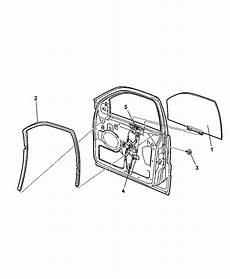 68059644aa Genuine Jeep Regulator Front Door Window