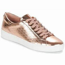 michael michael kors colby sneaker pink gold free
