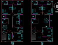 autocad 2d plans for houses design autocad 2d and 3d house plan by wahabshaikh12