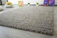 Hochflor Teppich Grau - hochflor teppich soft touch global carpet
