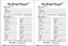 tableau budget familial gratuit à imprimer 201 pingl 233 sur bullet journal