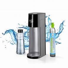 Sodatrend Wassersprudler Deluxe Mit Glasflasche Weltbild At