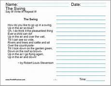 cursive handwriting worksheets 6th grade 22016 60 cursive handwriting sheets a child s garden of verses