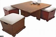 table basse pouf intégré table pouf ziloo fr