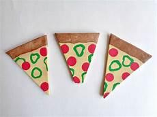 Clay Pizza Slice Coasters