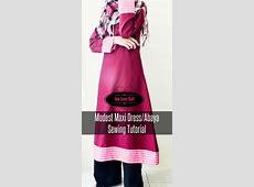 Modest Maxi Dress/Abaya Sewing Tutorial   Sew Some Stuff