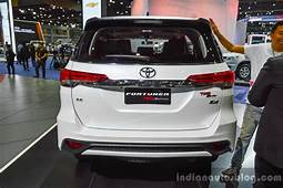 2016 Toyota Fortuner TRD Sportivo Rear At BIMS