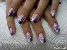 Nageldesign 2018 Trends Bilder - white tip nails with design style nails
