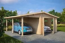 carport garage kombination garage and carport combination type g 44mm 6 x 6 m