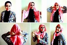 Model Jilbab Modern Untuk Wajah Oval