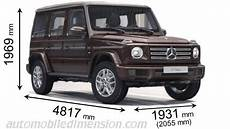 mercedes g 2018 dimensions boot space and interior