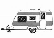 malvorlage wohnwagen kostenlose ausmalbilder zum ausdrucken