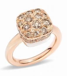 pomellato ring pomellato nudo maxi brown solitaire ring harrods
