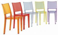 La Stackable Chair Transparent Polycarbonate