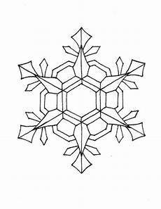 nifty snowflakes coloring page