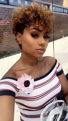 30 short curly hairstyles for black