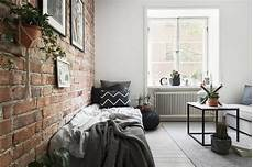 brick wall studio apartment tiny studio apartment with an exposed brick wall