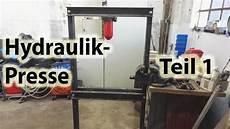 hydraulikpresse teil 1
