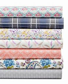 sanders printed microfiber 3 pc sheet created for macy s reviews sheets