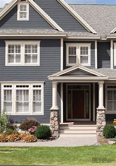image result for brown roof stone porch blue paint stone veneer behr exterior paint colors