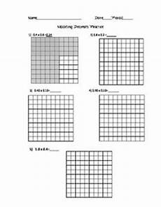 decimal worksheets with models 7336 this place value chart is a great way to introduce decimals through the hundredths place to