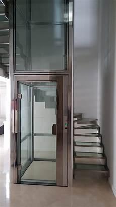 Pose De Deux Ascenseurs Domestiques Pour Particuliers Au