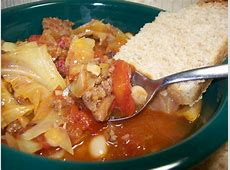 beefy spaghetti soup_image