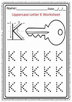 free letter k worksheets for preschool 24376 uppercase letter k worksheets free printable preschool and kindergarten