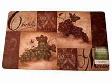 Themed Kitchen Floor Mats by Kitchen Rugs With Grapes Home Decor