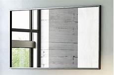 spiegel online bestellen rechteckiger spiegel mit schwarzem metallrahmen versch