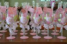 wedding wine glass bridal party pretty in pink theme painted favor shower gift 15 00