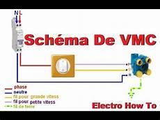 Sch 233 Ma Electrique De La Vmc 2 Vitesses Branchemant