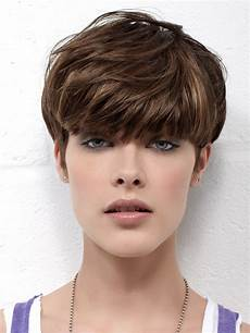short mushroom haircut with super short graduated sides