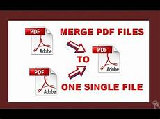 How To Merge Different Pdf Files In To One Single Pdf File