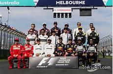 The 2017 F1 Drivers At Australian Gp