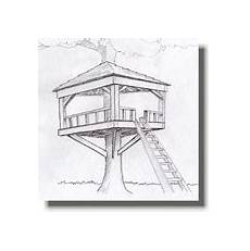 treeless tree house plans free treeless treehouse plans