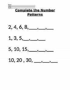 maths patterns worksheets for grade 5 505 vaap 5th grade math patterns by bag of tricks and teaching tips