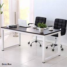 ebay home office furniture black wood computer desk pc laptop table workstation study