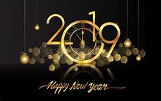 happy new year 2019 clock fireworks hd wallpapers 3840x2400 wallpapers13 com