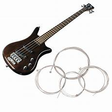 4 Size Set String Bass Guitar Parts Stainless Steel Plated