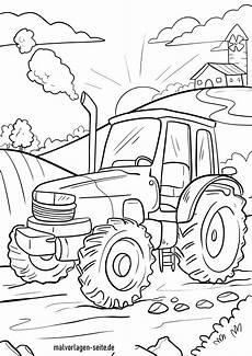 traktor malvorlage kinderbilder kinderbilder
