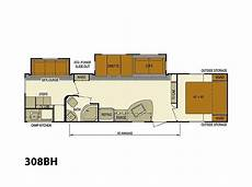 20k house plans 2015 skyline nomad 308bh bunkhouse 20k to 28k rvs