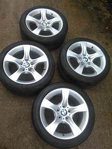 genuine bmw 17 5x120 style 339 alloy wheels with runflat