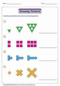 growing patterns worksheets for 3rd grade 573 growing pattern type 2 pattern worksheet math patterns grade math