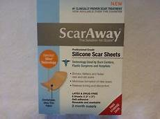 scaraway silicone scar sheets professional grade for 2 month supply ebay